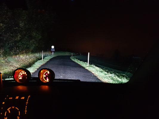 SMART ForTwo LED Abblendlicht H7 Nebbelicht H11 be Nacht und Regen
