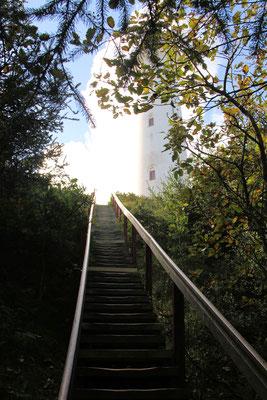 ... die ersten Stufen nach oben....