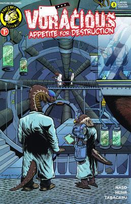 Voracious Variant Cover for Action Lab Comics