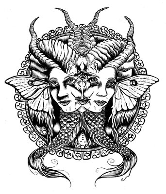 Sirens graphic for And The Traveler.