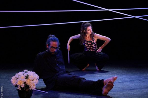 """""""Narcisses"""" Céline Signoret et Simon Larcher Photo©Eva Doreau"""
