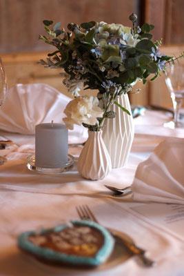Dekoverleih Porzellanvase Weiß