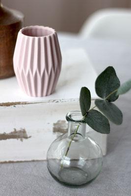 Dekoverleih Vase rund