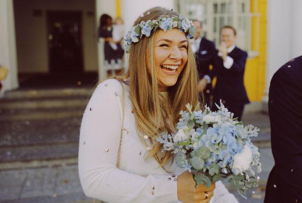 Weiß-blaue Hochzeit // Foto: Anna Fichtner Fotografie