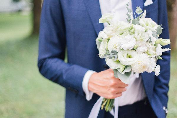 Industrial Wedding Brautstrauß // Foto: Lilly Karsten Photography