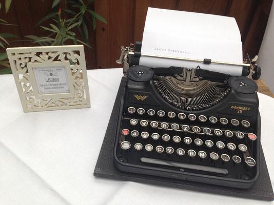 Dekoverleih Schreibmaschine Vintage