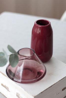 Dekoverleih Vase Bordeaux