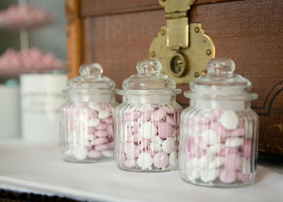 Dekoverleih Bonbon-Gläser für Candy Bar