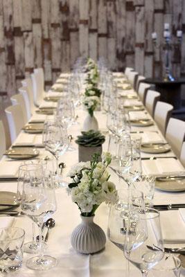 Business Event Tischdekoration; Foto: Mariska Rümmelein