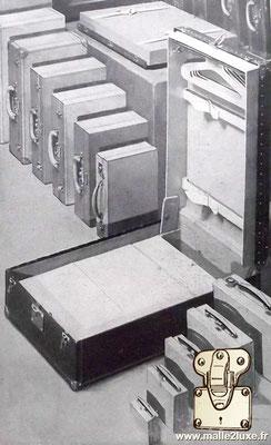publicité ancienne louis vuitton portes habits