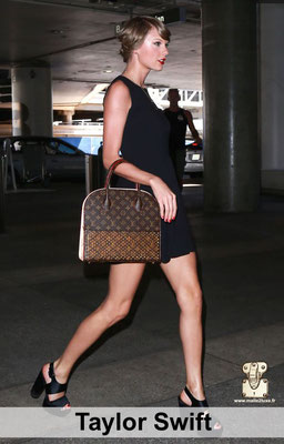 Taylor swift sac Louis Vuitton fan star