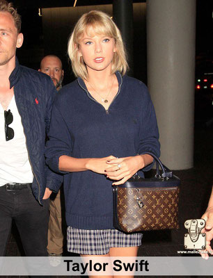 Taylor swift adore Louis Vuitton sac a main de luxe Paris