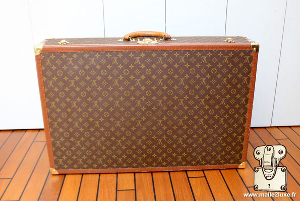 Valise bisten Louis Vuitton 80 arriére