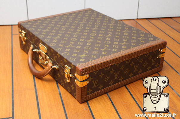 valise president Louis Vuitton monogram vintage