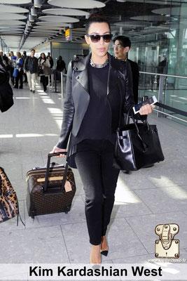 kim kardashian aime les malles louis vuitton