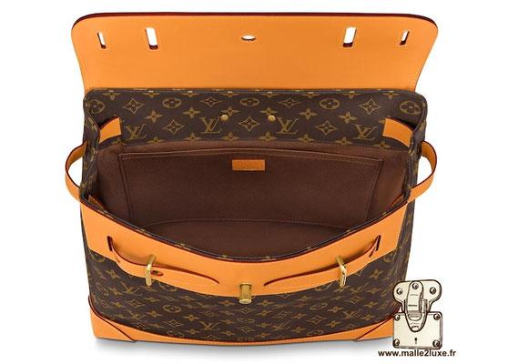 Steamer bag Louis Vuitton nouveau PM ouvert