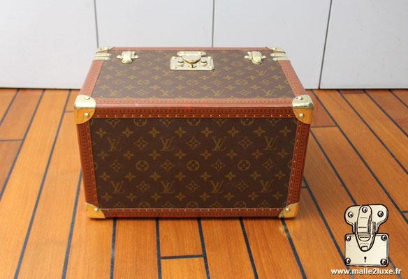 Vanity Louis Vuitton toile monogram 1990 dessous
