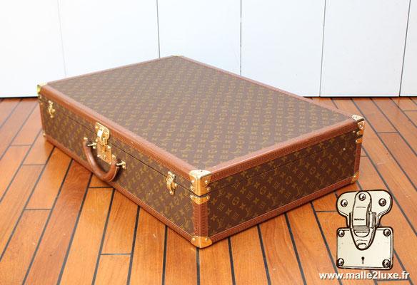 Valise vintage bisten Louis Vuitton 80 coté