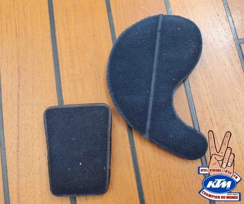 Mousse intérieur casque jt racing ALS 1 2 usa