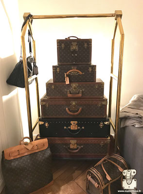 old Louis Vuitton suitcase