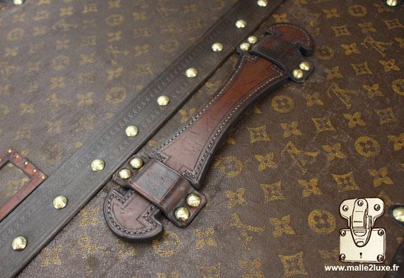poignée cuir malle Louis Vuitton
