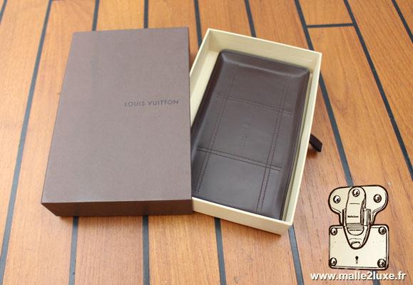 plateau en cuir Louis Vuitton