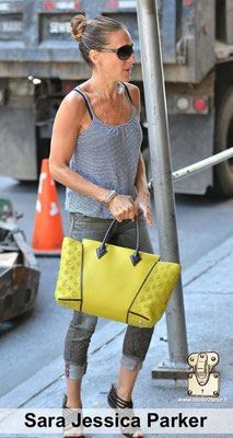 Sara Jessica Parker fan des stars Louis Vuitton sac a main