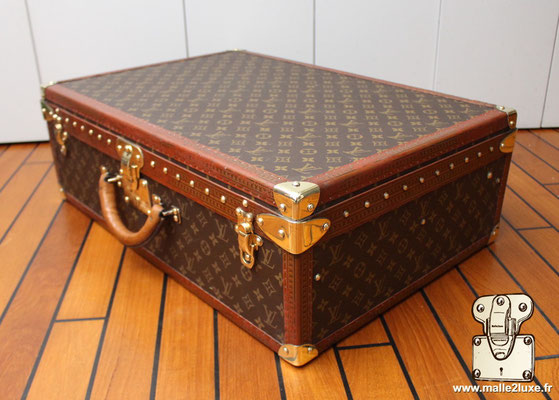 Alzer Louis Vuitton 65 suitcase  old
