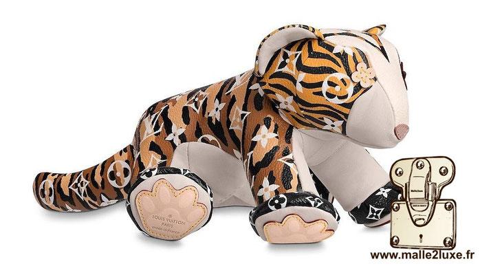 doudou peluche Louis Vuitton tigre