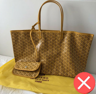 Fake old goyard bag