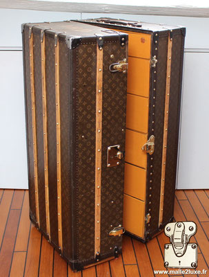 Large louis vuitton wardrobe trunk