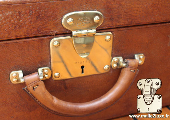 Louis vuitton suitcase lock old suitcase