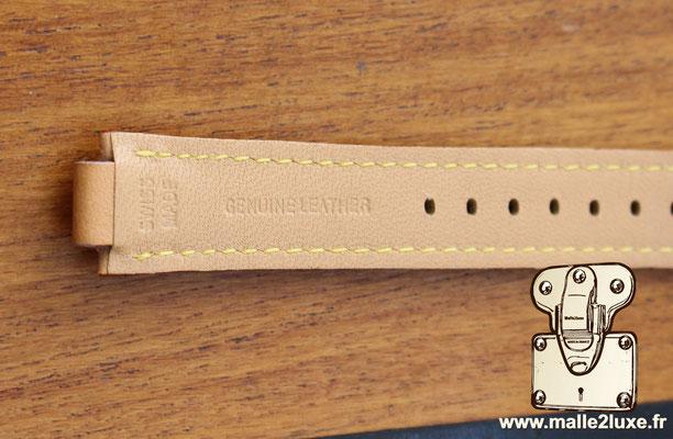 Bracelet pour montre femme Louis Vuitton