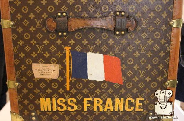 malle miss France 1927 Louis Vuitton