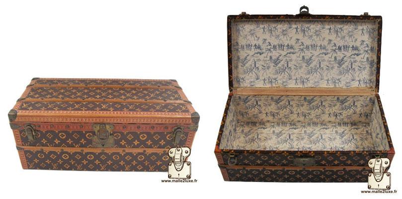 Louis Vuitton moiré paper flower trunk