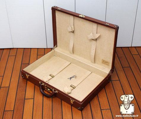 jolie finition bagage vintage vuitton