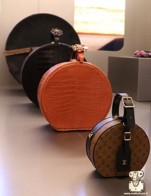 boite a chapeau Louis Vuitton exposition