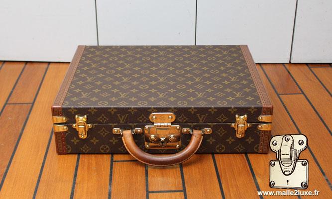 valise president Louis Vuitton monogram vintage magnifique