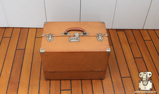 Valise mallette Marmotte Louis Vuitton fermé