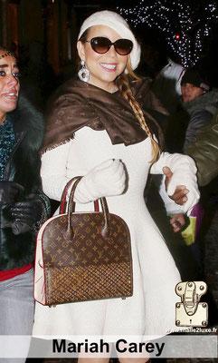 Maria carey Mariah sac serie limité Louis Vuitton luxe france paris