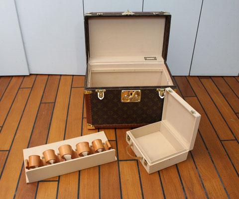 Vanity Louis Vuitton toile monogram 1990 boite a pharmacie superbe