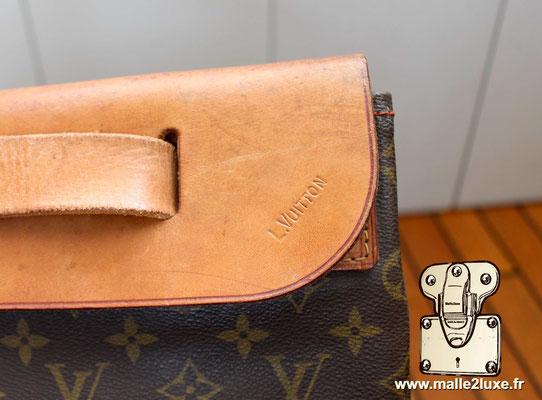 Steamer bag Louis Vuitton volume incroyable pour ce sac de luxe