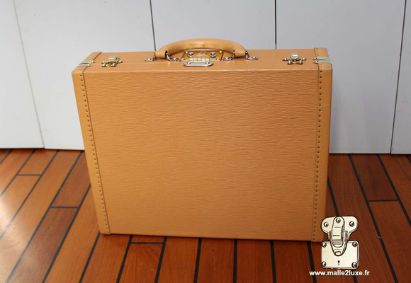 Valise président Louis Vuitton exterieur beige