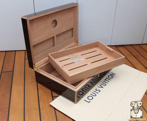 coffre a 150 cigares Louis Vuitton ebene