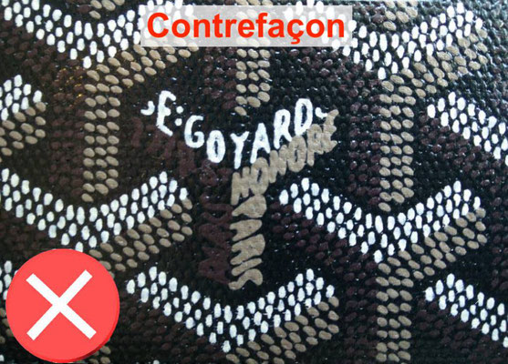 faux canvas goyard trunk