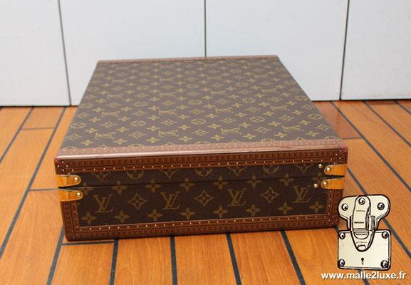 valise president Louis Vuitton monogram vintage coté
