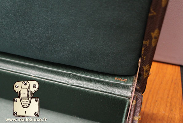 valise president Louis Vuitton monogram vintage numero de serie
