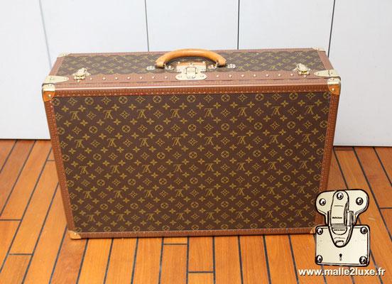 Valise alzer 70 Louis Vuitton vintage dessous