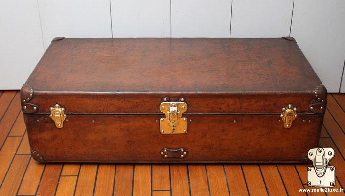 Malle cabine Louis Vuitton 1906 cuir