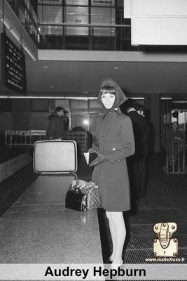 Audrey Hepburn aime les malles louis vuitton